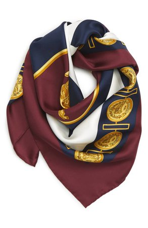 Burberry Archive Print Square Silk Scarf | Nordstrom