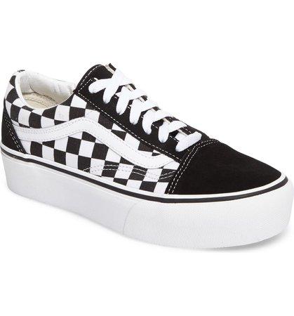 Vans Old Skool Platform Sneaker (Women) | Nordstrom