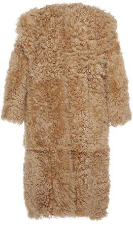 Isabel Marant Geltonia Fur Coat