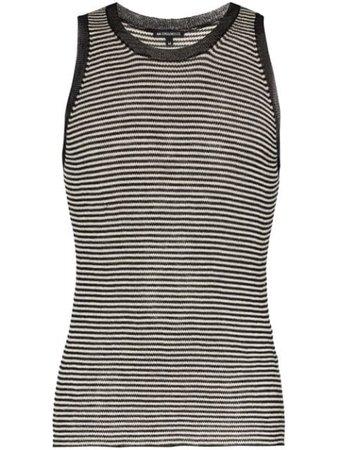 Ann Demeulemeester Stripe Wool Tank Top - Farfetch