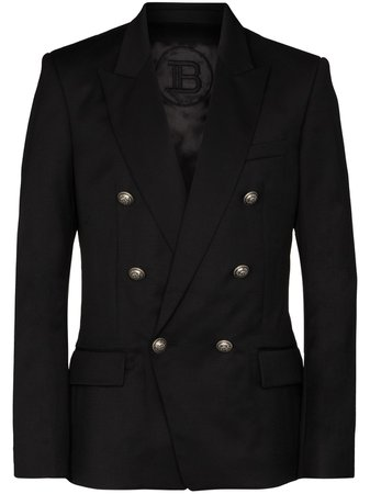 Balmain double-breasted Blazer Jacket - Farfetch