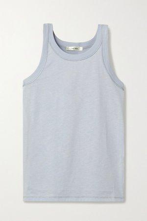 Sky blue Frankie cotton-jersey tank | The Row | NET-A-PORTER