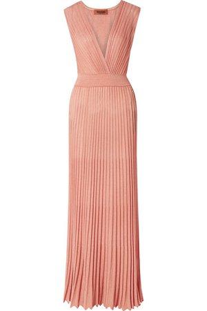 Missoni | Mare pleated Lurex maxi dress | NET-A-PORTER.COM
