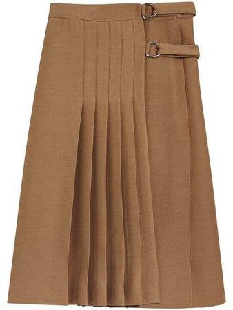 Burberry Pleated Skirt - Farfetch