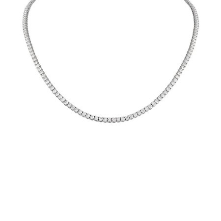 Diamond Tennis Necklace – Stephanie Gottlieb
