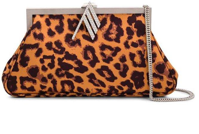 The leopard-print clutch