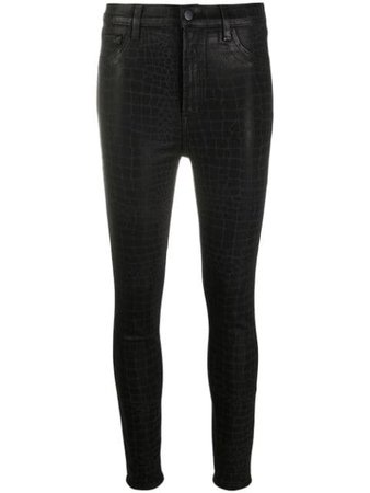 J Brand Leenah high-rise Skinny Jeans - Farfetch