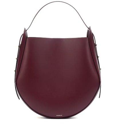 Corsa leather tote