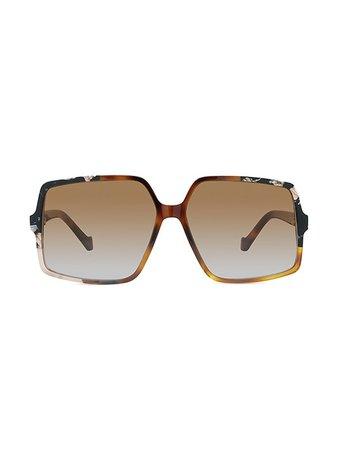 Loewe 61MM Hexagonal Sunglasses | SaksFifthAvenue