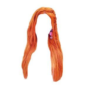 Orange Red Hair PNG