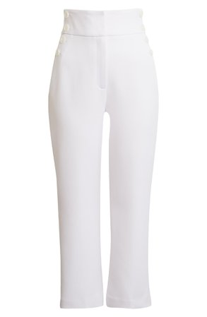Halogen® x Atlantic-Pacific High Waist Crop Pants | Nordstrom
