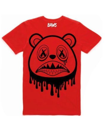 red baws shirt