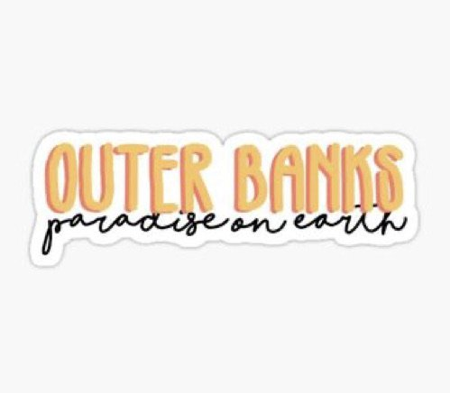 Outer Banks Sticker