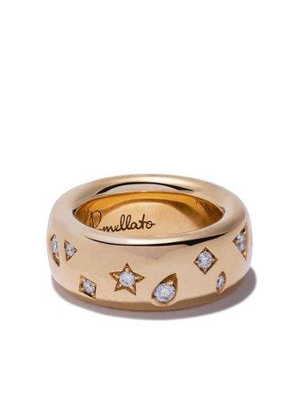 Pomellato 18kt Rose Gold Iconica Diamond Ring - Farfetch