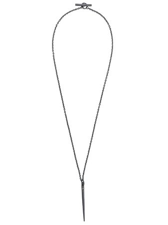 Parts Of Four Spike Necklace 14302 Silver | Farfetch