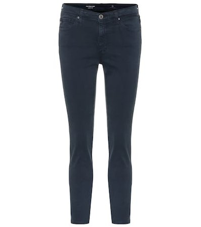 The Prima mid-rise skinny jeans