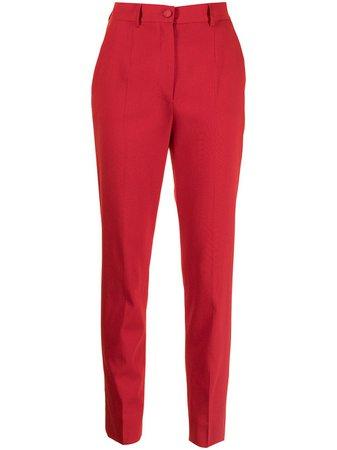 Dolce & Gabbana side-stripe Straight Trousers - Farfetch
