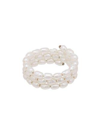 Holly Ryan Pearl Spiral Ring - Farfetch