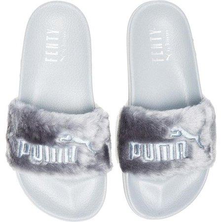 Fenty by Puma Leadcat Faux Fur Slide Sandals
