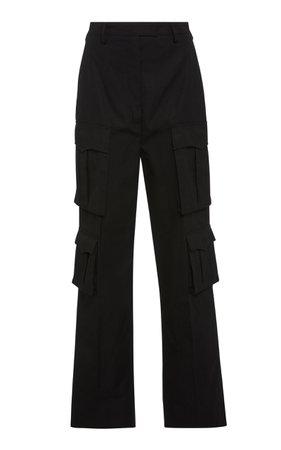 Prada Cotton-Gabardine Cargo Pants Size: 40