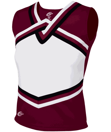 Maroon Cheerleading Shirt