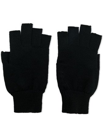 Rick Owens Fingerless Gloves - Farfetch