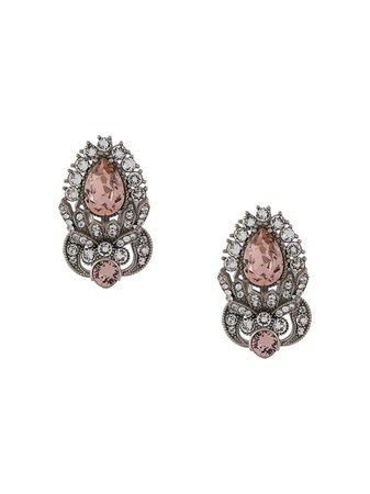Dolce & Gabbana rhinestone-embellished Earrings - Farfetch