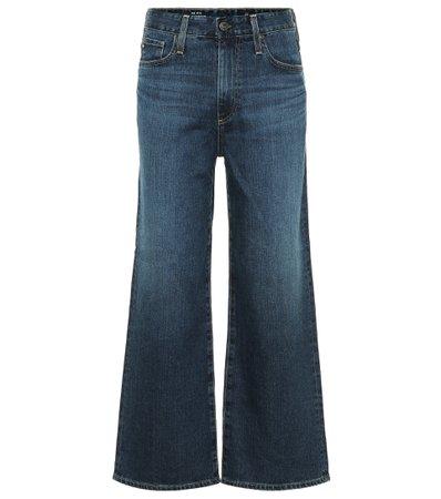 AG Jeans - Etta high-rise wide jeans | Mytheresa