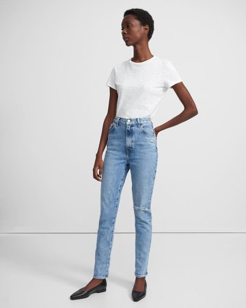 1212 Runway High-Rise Slim Straight Jean in Comfort Stretch