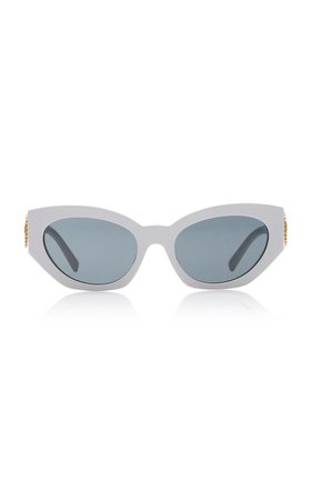 Medusa Cat-Eye Acetate Sunglasses by Versace | Moda Operandi