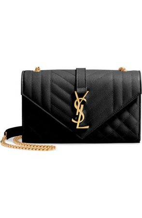 Saint Laurent Small Envelope Calfskin Leather Shoulder Bag | Nordstrom