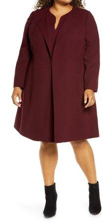 Russo Longline Wool Coat