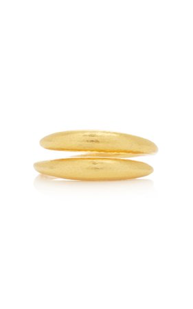 Ilias Lalaounis 18K Gold Cycladic Wrap Around Ring