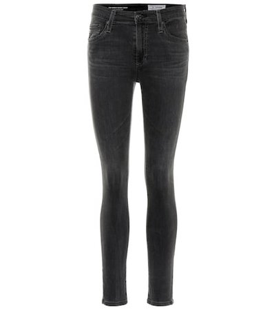 The Farrah high-rise skinny jeans