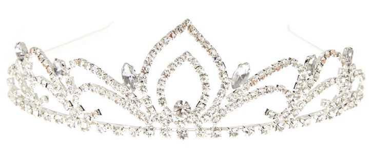 crystal swan princess tiara