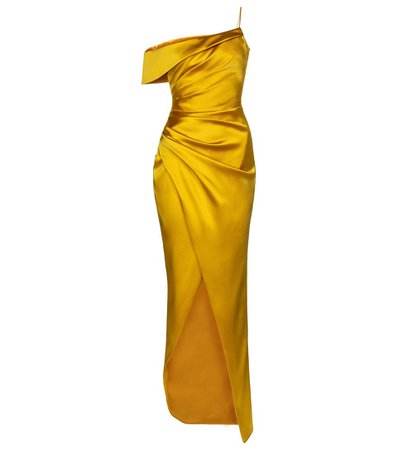 Vestido De Fiesta De Satén - RASARIO | Mytheresa