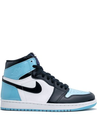 ​​​​Jordan Air Jordan 1 High Og Unc Patent Leather Ss20 | Farfetch.Com