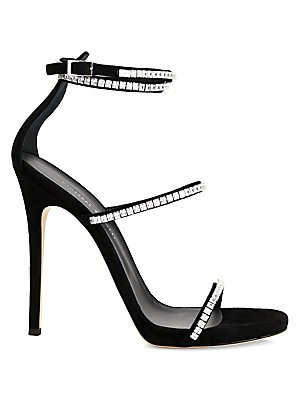 Giuseppe Zanotti - Silk Bow Slingback Sandals - saks.com
