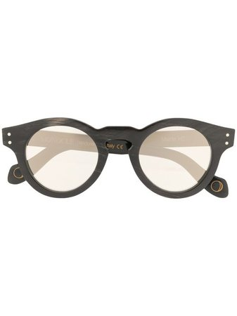 Monocle Eyewear Round Frame Sunglasses - Farfetch