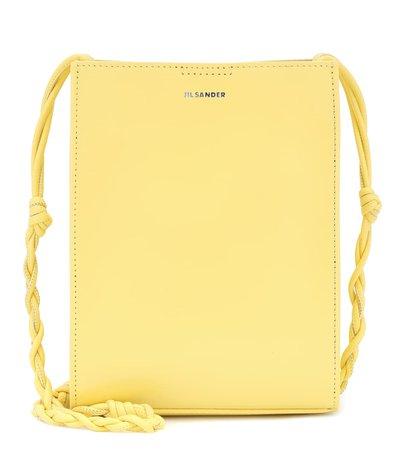 Tangle Small Leather Shoulder Bag   Jil Sander - Mytheresa