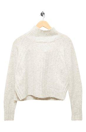 Topshop Rib Crop Turtleneck Sweater | Nordstrom