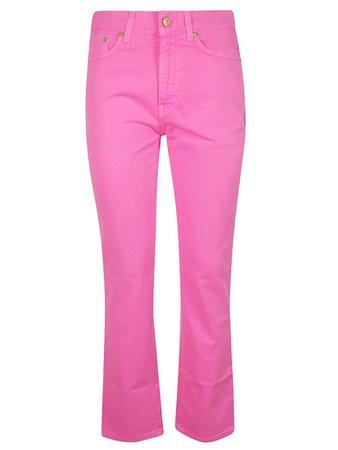 Chiara Ferragni Chiara Ferragni Flirting Fluo Jeans - pink - 11109880   italist