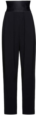 Magda Butrym High-Rise Stretch-Wool Pants