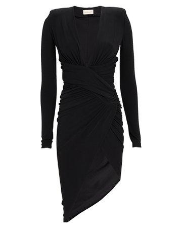 Alexandre Vauthier Draped Jersey Dress   INTERMIX®