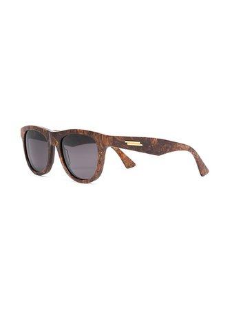 Bottega Veneta Eyewear round-frame Sunglasses - Farfetch