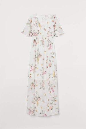 MAMA Long Dress - White