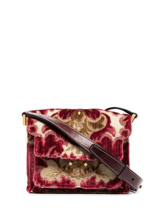 Marni Trunk floral-jacquard Shoulder Bag - Farfetch