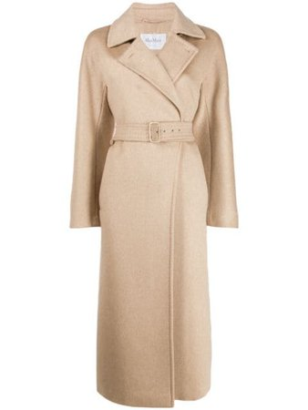 Max Mara Double Buttoned Trench Coat - Farfetch