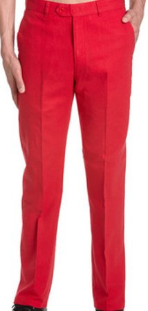 red dress pants men