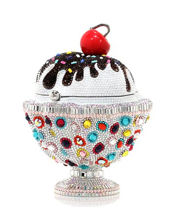 Judith Leiber Couture Ice Cream Sundae Sprinkles Clutch Bag | Neiman Marcus